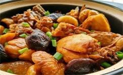 每日食谱|香菇板栗滑鸡,秋天来啦,吃道热乎乎