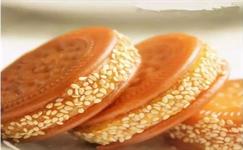 每日食谱|今天做个小甜点—南瓜夹心饼,看着
