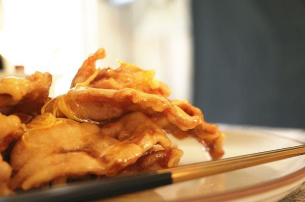 每日食谱|锅包肉,学会这个,让你一不小心变厨