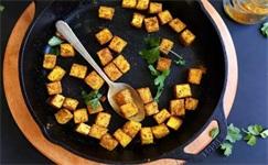 每日食谱|咖喱脆皮豆腐,豆腐新吃法,来了解一
