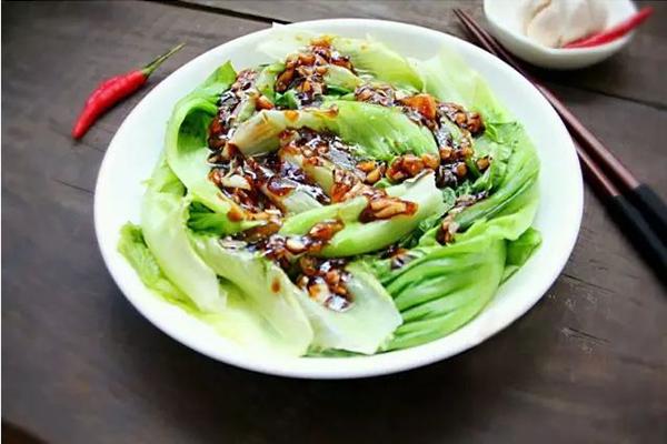 每日食谱||蚝油生菜的做法