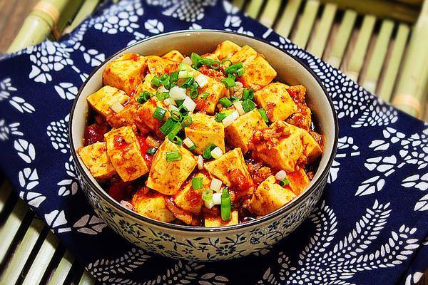 每日食谱||麻婆豆腐的做法