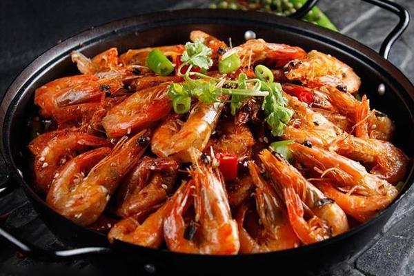 每日食谱||干锅虾的做法