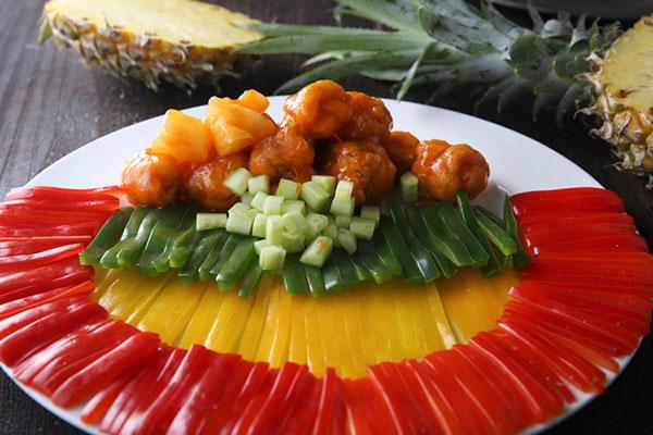 每日食谱||菠萝咕咾肉的做法