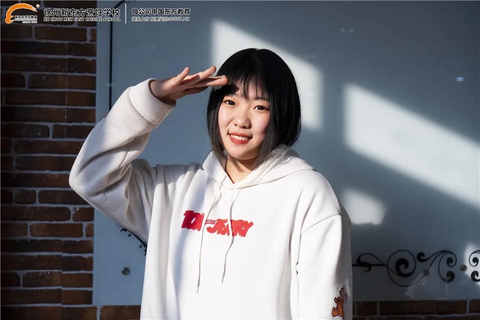 【新生访谈】刘芊:因为热爱,所以专注