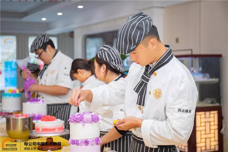 女生学西点哪里好?来徐州新东方烹饪学校吧!