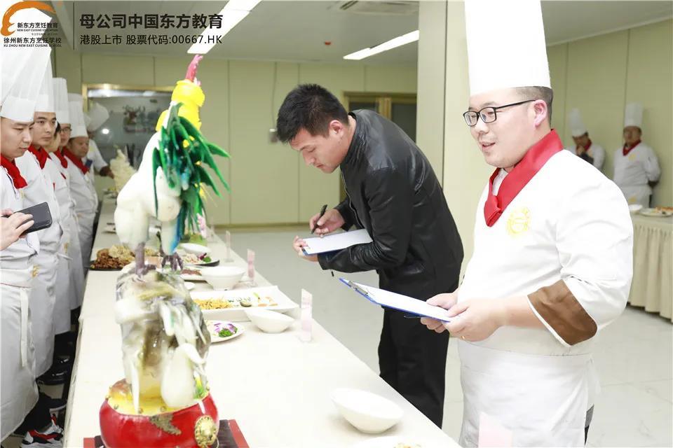 匠心出精品——直击徐州新东方中餐教师考核