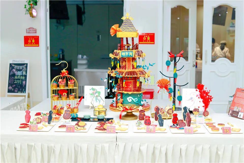 【创意满分】徐州新东方烹饪学校经典西点19