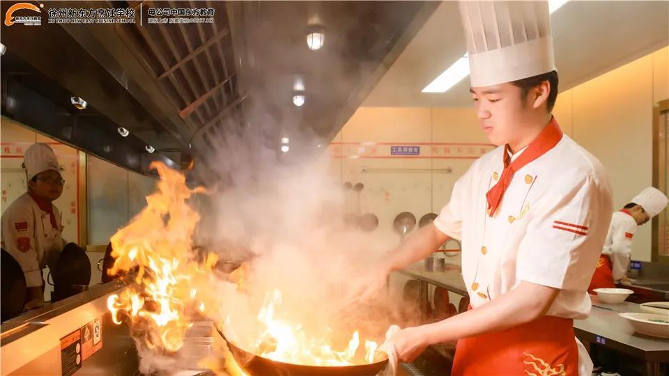 学中餐,好就业,梦想在路上,学厨师就选徐州新东